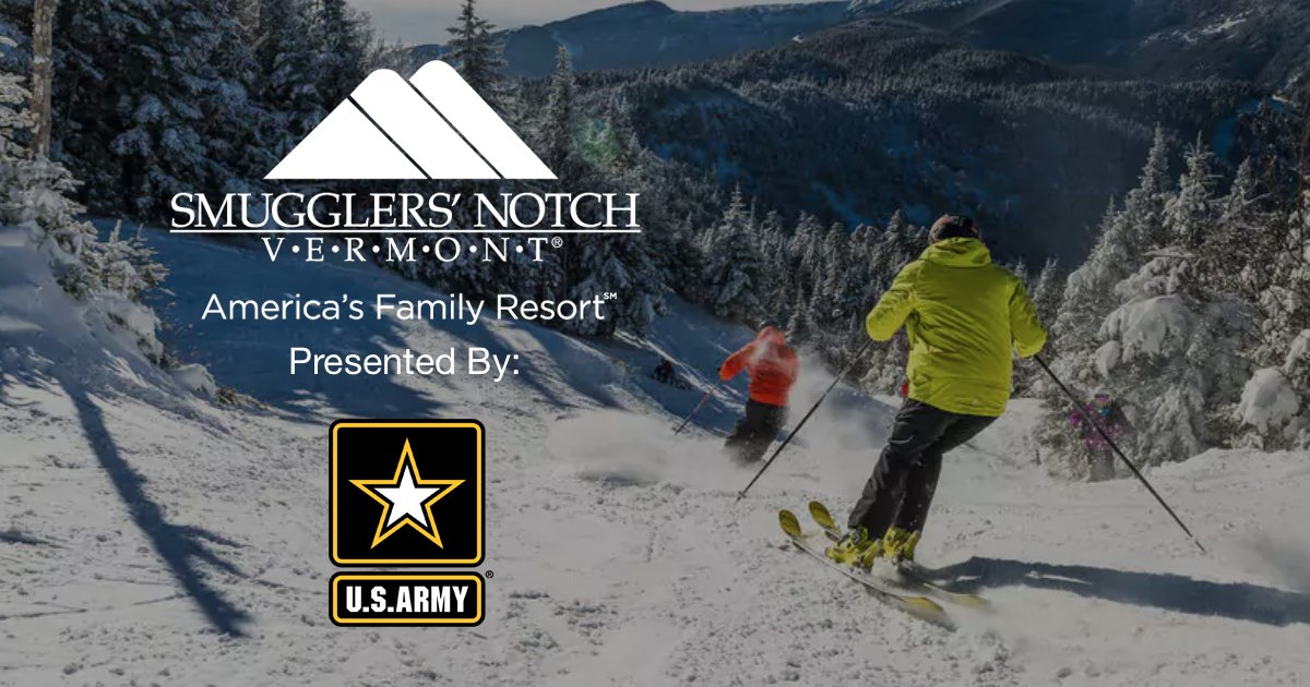 'Smuggler's Notch' Contest Presented by the U.S. Army