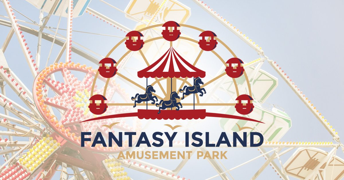 Pair of Unlimited Ride Passes to Fantasy Island Amusement Park in LBI!