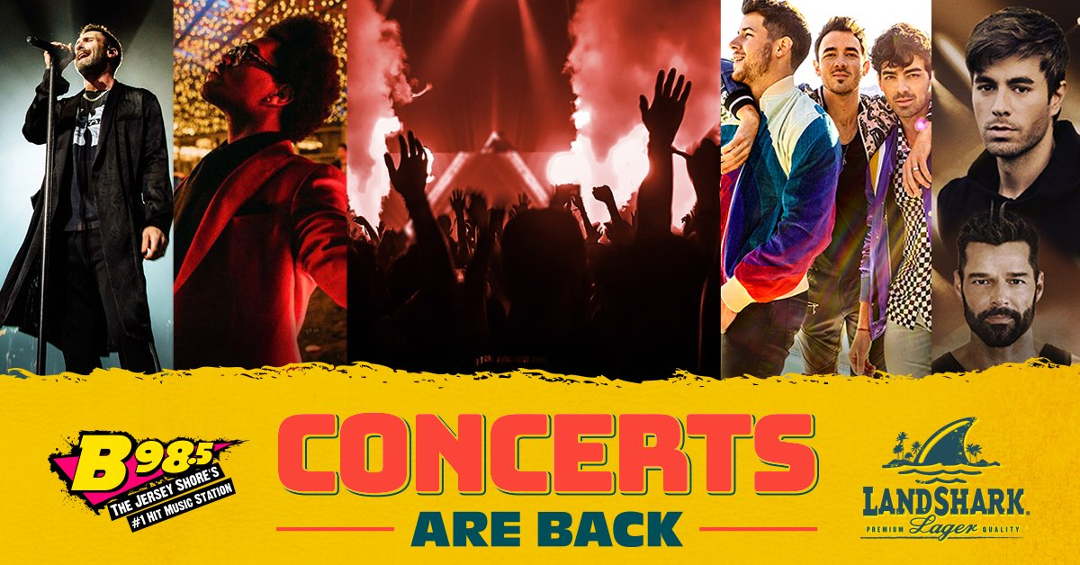 'Concerts are Back' Contest presented by LandShark Lager
