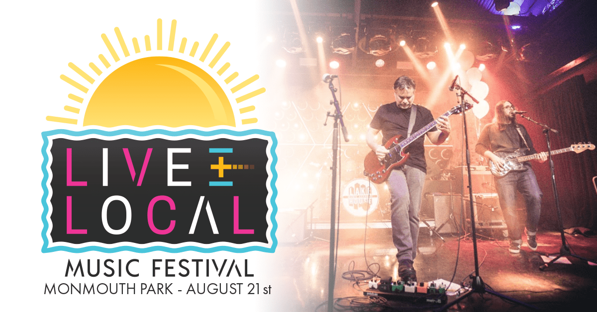 Live & Local Music Festival at Monmouth Park
