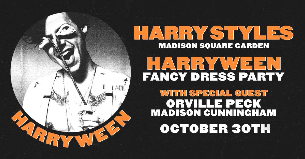 Harry Styles 'Harryween' Contest